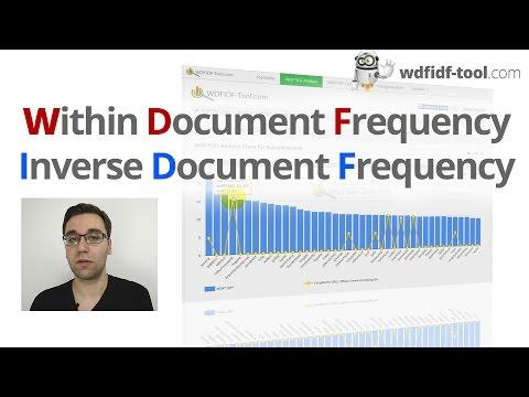 WDF-IDF-Tool: Wie optimiert man Texte auf Relevanz?