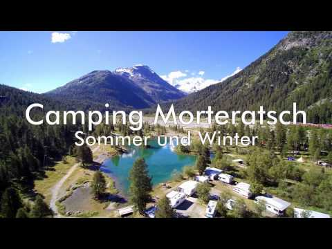 Camping Morteratsch im Engadin (Schweiz/Switzerland)