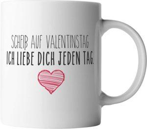 Valentinstag-Tasse